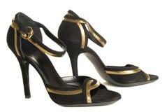 De schoenen van de avond royalty-vrije stock fotografie