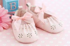 De schoenen van de baby royalty-vrije stock fotografie