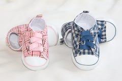 De Schoenen van de baby royalty-vrije stock afbeeldingen