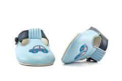 De Schoenen van de baby stock foto
