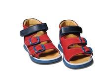 De schoenen van de baby Stock Afbeeldingen