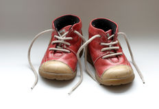 De schoenen van de baby Stock Fotografie