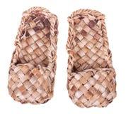 De schoenen van de bast Royalty-vrije Stock Foto