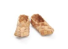 De schoenen van de bast,   Stock Foto