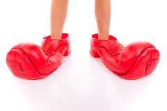 De schoenen van de clown Royalty-vrije Stock Foto's
