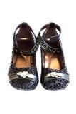 De schoenen van de de luxedame van Nice royalty-vrije stock foto