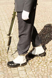 De schoenen van de koninklijke Wacht, Stockholm Stock Fotografie