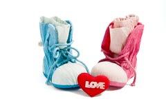 De schoenen van de liefde Stock Afbeelding