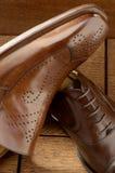 De schoenen van de luxe Royalty-vrije Stock Afbeeldingen