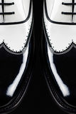 De Schoenen van de maffia stock afbeelding