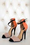 De schoenen van de manier Stock Foto's