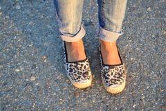 De schoenen van de manier Royalty-vrije Stock Fotografie