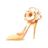 De schoenen van de manier Stock Afbeeldingen