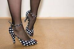 De schoenen van de manier Royalty-vrije Stock Foto's