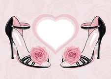 De schoenen van de manier Royalty-vrije Stock Afbeeldingen