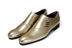 De schoenen van de mens Stock Foto