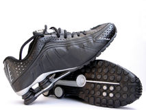 De Schoenen van de sport Stock Foto's