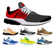De schoenen van de sport stock illustratie