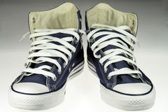 De schoenen van de sport Stock Afbeeldingen