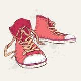 De schoenen van de sport Tennisschoenen Stock Afbeelding