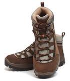 De schoenen van de trekking Royalty-vrije Stock Afbeeldingen