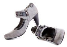 De schoenen van de vrouw stock afbeelding