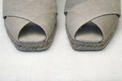 De schoenen van de vrouw royalty-vrije stock foto