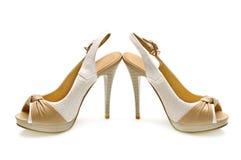De schoenen van de vrouw Stock Fotografie