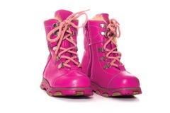 De schoenen van de winter Stock Foto's