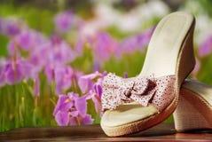De schoenen van de zomer Royalty-vrije Stock Foto