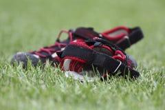 De schoenen van de zomer Stock Afbeeldingen