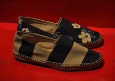 De schoenen van de zomer stock afbeelding