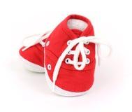 De schoenen van de zuigeling Royalty-vrije Stock Foto's