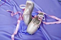 De schoenen van het ballet Royalty-vrije Stock Foto's