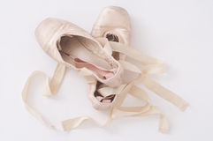 De schoenen van het ballet Stock Afbeeldingen
