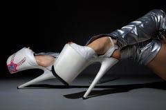 De schoenen van het cabaret royalty-vrije stock fotografie