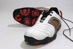De Schoenen van het golf Royalty-vrije Stock Foto's