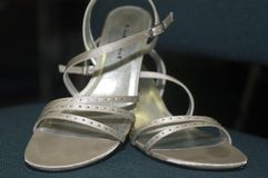 De schoenen van het huwelijk Royalty-vrije Stock Foto