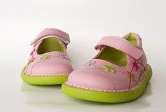 De schoenen van het jonge geitje Royalty-vrije Stock Foto