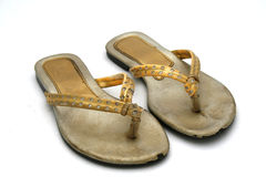 De schoenen van het jonge geitje Royalty-vrije Stock Foto's