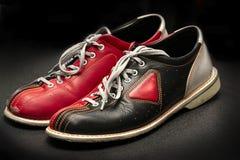 De schoenen van het kegelen. Stock Foto's