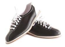 De schoenen van het kegelen royalty-vrije stock afbeeldingen