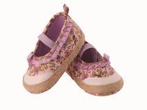 De schoenen van het kind Stock Afbeeldingen
