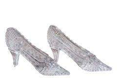 De schoenen van het kristal Royalty-vrije Stock Afbeelding
