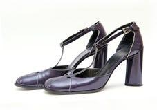 De schoenen van het leer Royalty-vrije Stock Foto's