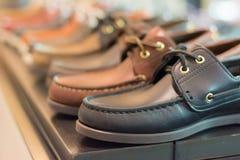 De Schoenen van het leer Stock Fotografie