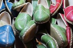 De Schoenen van het leer Royalty-vrije Stock Afbeeldingen
