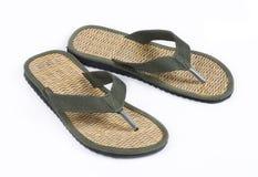 De schoenen van het strand Stock Afbeelding