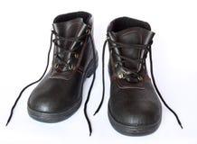 De schoenen van het werk stock afbeeldingen