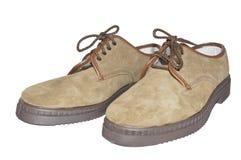 De Schoenen van het werk Stock Foto